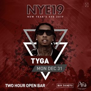 Tyga Newyear Event Ticket with 2 hour open bar for Sale in Las Vegas, NV
