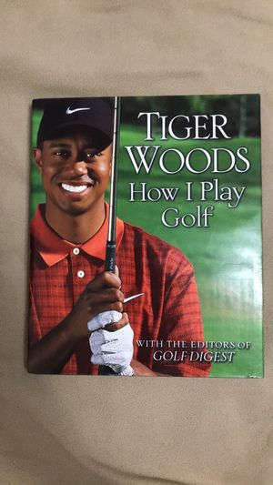 Tiger Woods How I Play Golf for Sale in Beltsville, MD
