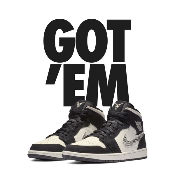 """new product 4b01d f2113 Air Jordan 1 Mid Melo """"Equality"""" size 8.5"""