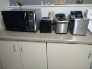 2 deep fryers 1 microwave 1 toaster for Sale in St. Louis, MO
