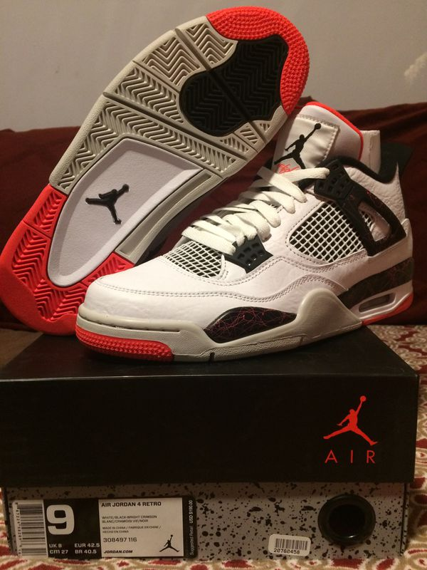 ac48bceabb8 Nike Air Jordan 4 Retro Flight Nostalgia Size 9 for Sale in Tinton Falls,  NJ - OfferUp