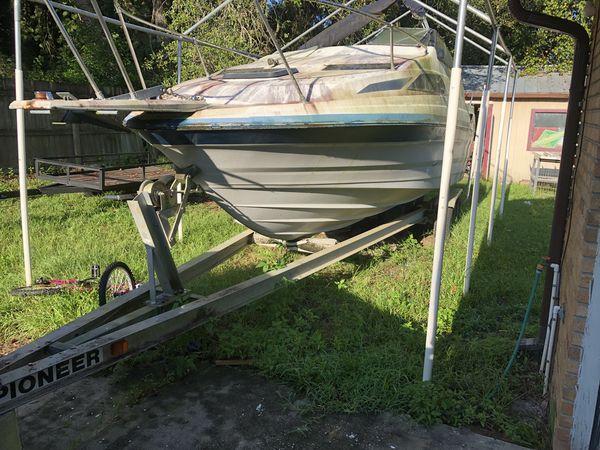 Pioneer20 boat trailer tandem axle aluminum i beam for Orange city motors inc
