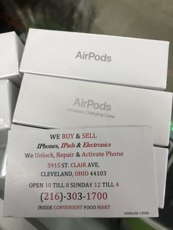 Original made by apple AirPods sealed new last generation Thumbnail
