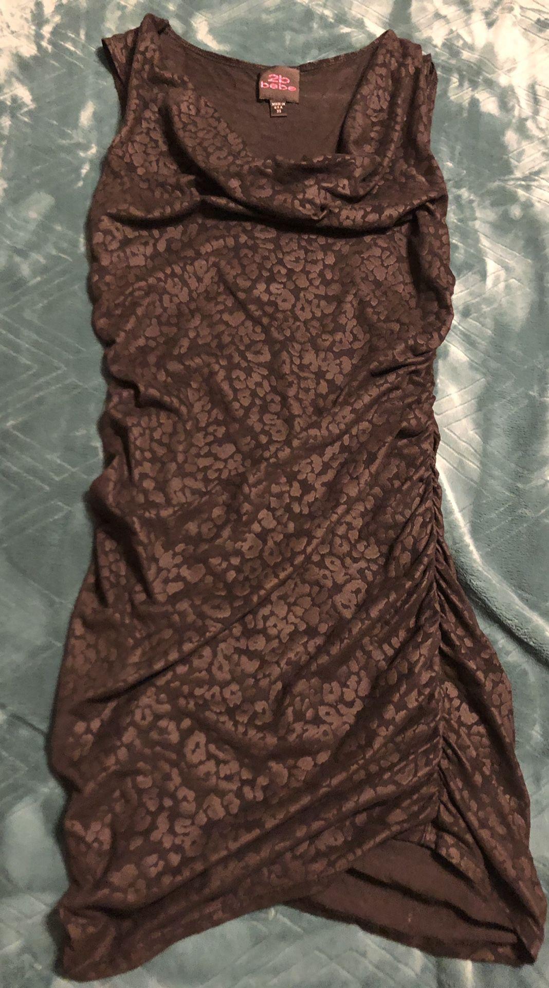 **FLASH SALE** 2B Bebe Black Dress XS