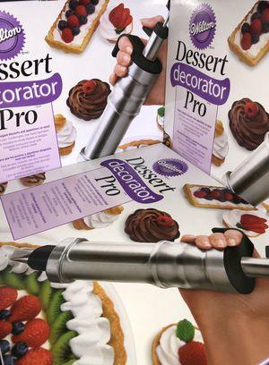 Brand New Wilton Dessert Decorator Pro Stainless Steel Cake