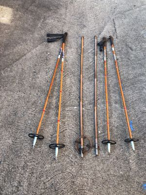 Vintage bamboo ski poles 3 sets for Sale in Latrobe, PA