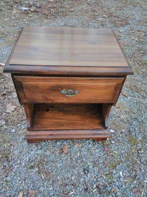 Vintage Wood Nightstand Dresser for Sale in Goochland, VA