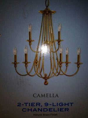 KICHLER 2 TIER 9 LIGHT CHANDELIER (style is Camella) for Sale in Mesa, AZ