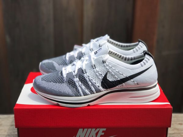 a6420efa3a1c54 Nike Flyknit Trainer 2017 OG White Black Authentic for Sale in ...