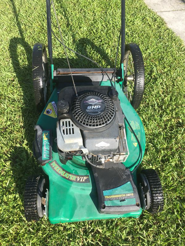 Weed Eater 22 Inch Self Propelled Mower For Sale In Orlando Fl