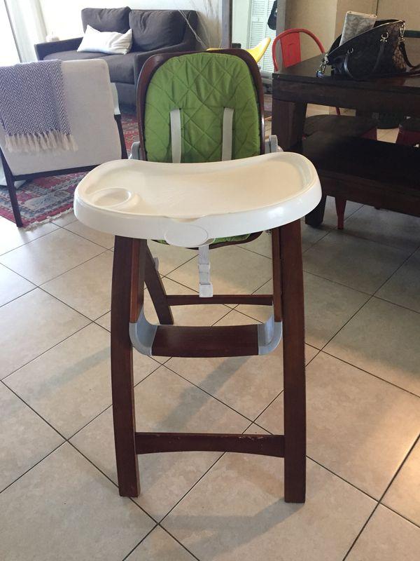 Summer Infant Wooden High Chair Adjustable Back For Sale In Plantation Fl Offerup