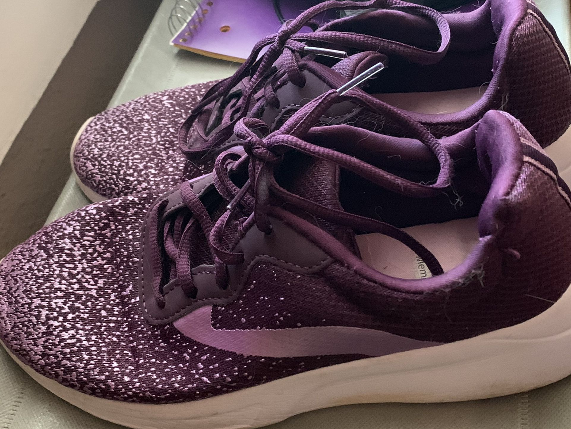 Beautiful Purple Shoes
