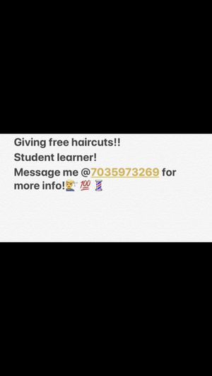 Free haircuts for Sale in Fort Washington, MD