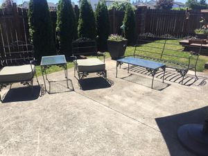 Vintage Cast Iron Outdoor Furniture For In Vancouver Wa