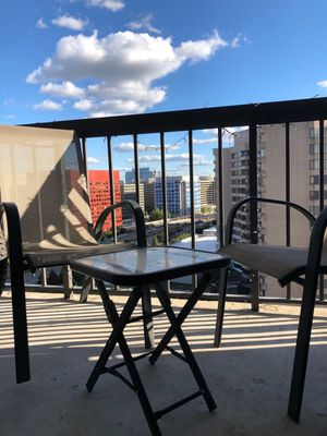 Outdoor table & two chairs for Sale in Arlington, VA