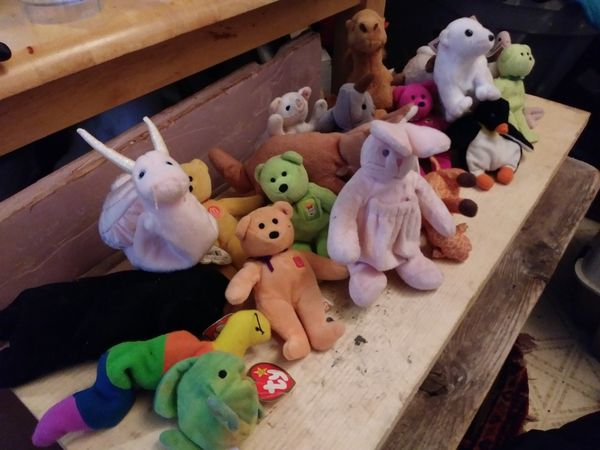 2864cfc74c8 Beanie baby coolectors wdovv for Sale in Abilene