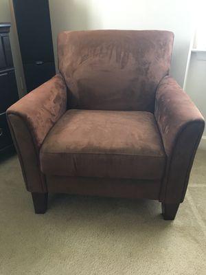 Microfiber Sitting/Reading Chair for Sale in Alexandria, VA