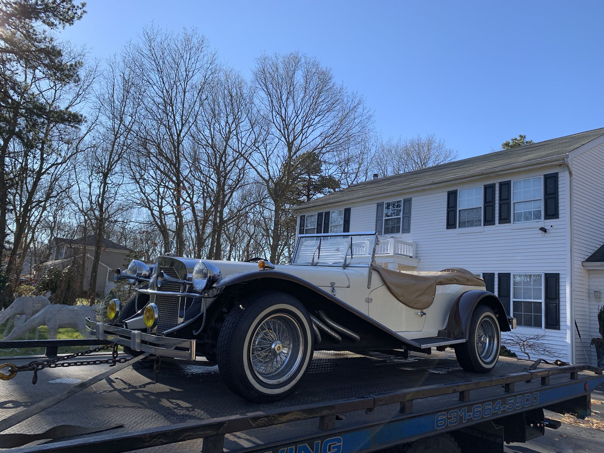 Mercedes Benz -SSK Deluxe- Gazelle 1929 kit-car