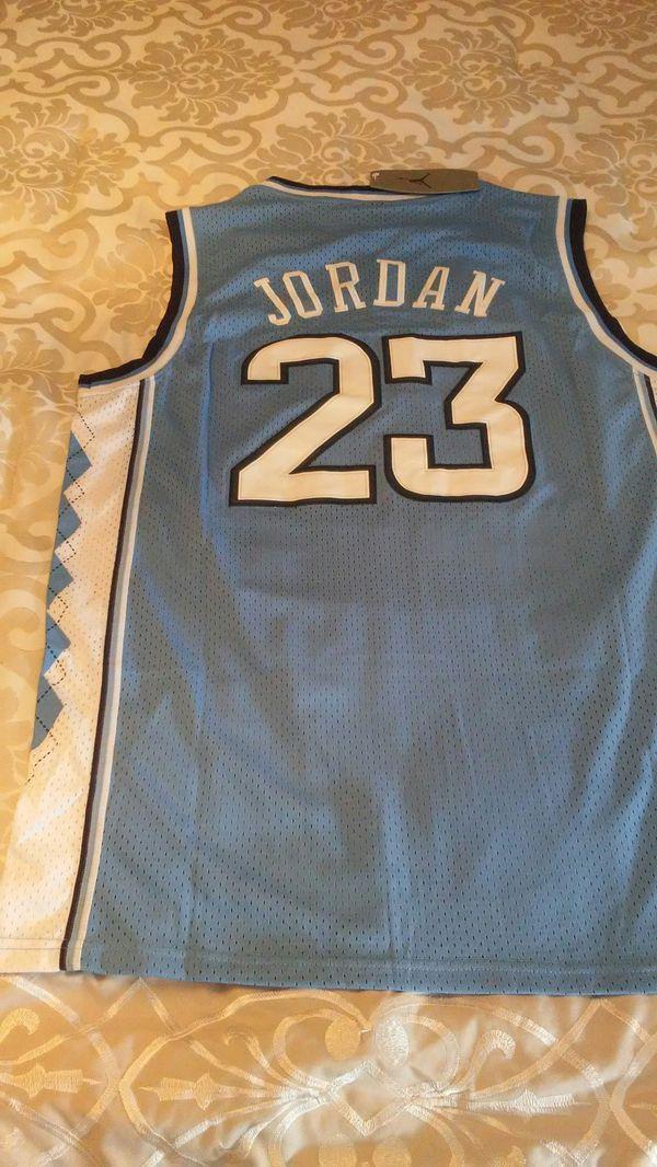 326a1b47c Jordan North Carolina Large basketball men s Jersey for Sale in Bensalem
