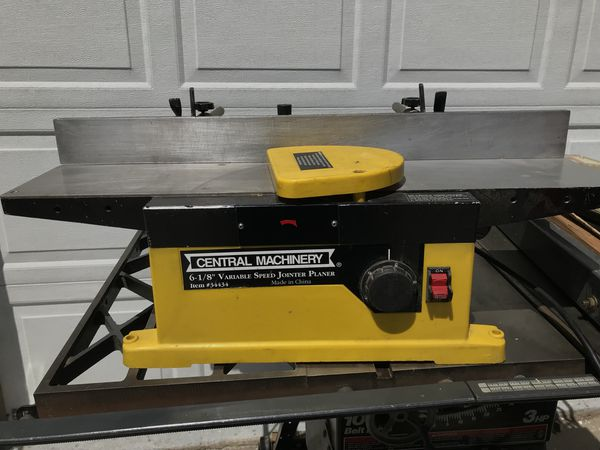 Central Machinery Jointer Planner