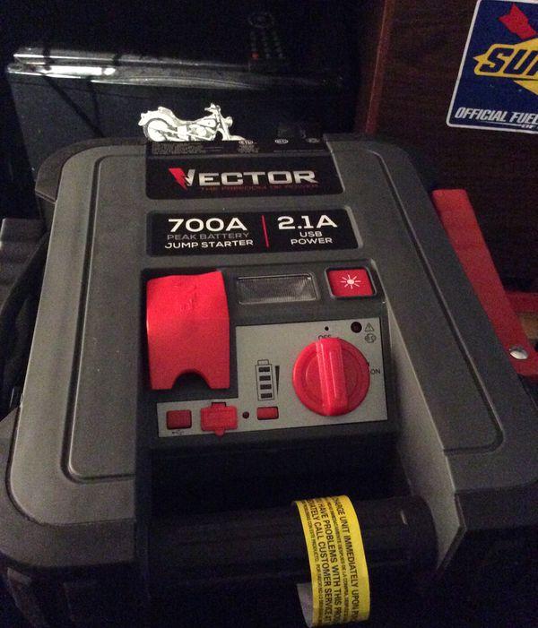 Vector Jump Box 700 Amp 2.1 Usb Power Jump Box For Sale In