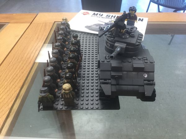 Lego Sherman Tank and German squad (Brickmania) for Sale in University  Place, WA - OfferUp
