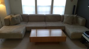 4 piece sectional sofa and coffee table for Sale in Gainesville, VA