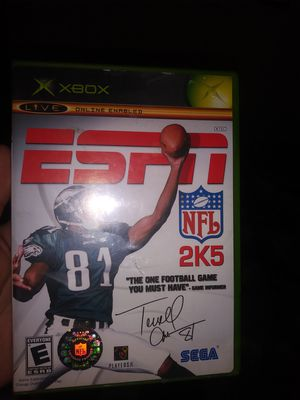 0b832c6a3 Original xbox game last nfl 2k made for Sale in Merced
