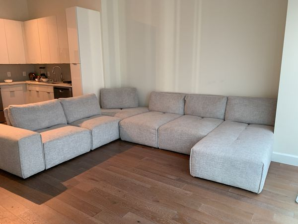 Astonishing Laney Park Light Gray 7 Pc Sectional For Sale In Atlanta Ga Uwap Interior Chair Design Uwaporg