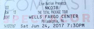 NKOTB TOMORROW for Sale in Philadelphia, PA