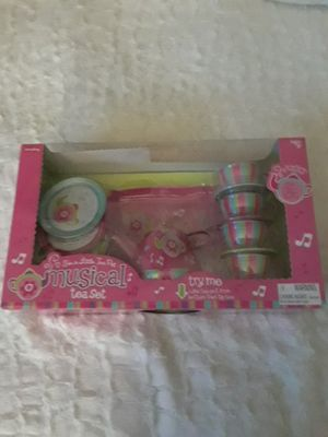 14 Piece Musical Tea Set Pink for Sale in Frederick, MD
