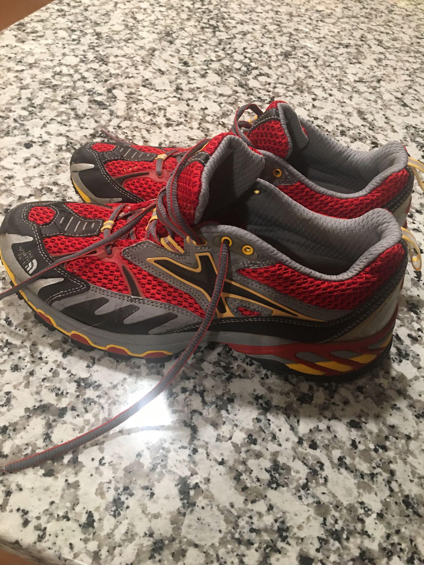 Northface Men's running shoes, 8 1/2