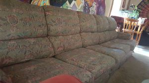 Used, Floral Sectional Couch for sale  Fayetteville, AR