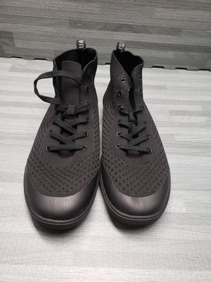 Photo SUAVS High hi top lace the legacy black sneakers