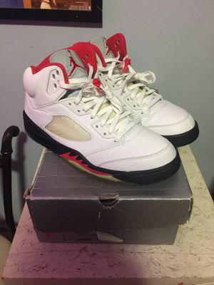 2000 Nike Air Jordan Retro 5 Fire Red size 11 for Sale in Washington, DC