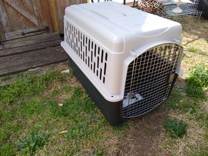 Photo XL dog cage never used (70-90 lb dogs)