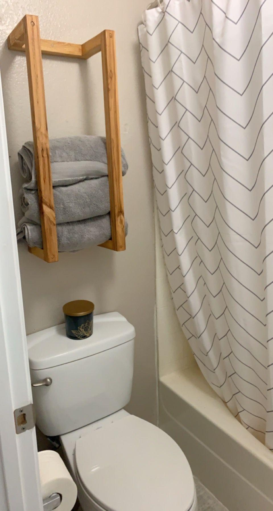 Handmade Towel Or Blanket Rack 30in High X 12in Wide