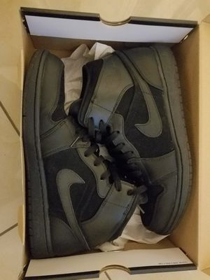 644139b95626a6 Air Jordan 1 phat size 11 black for Sale in US