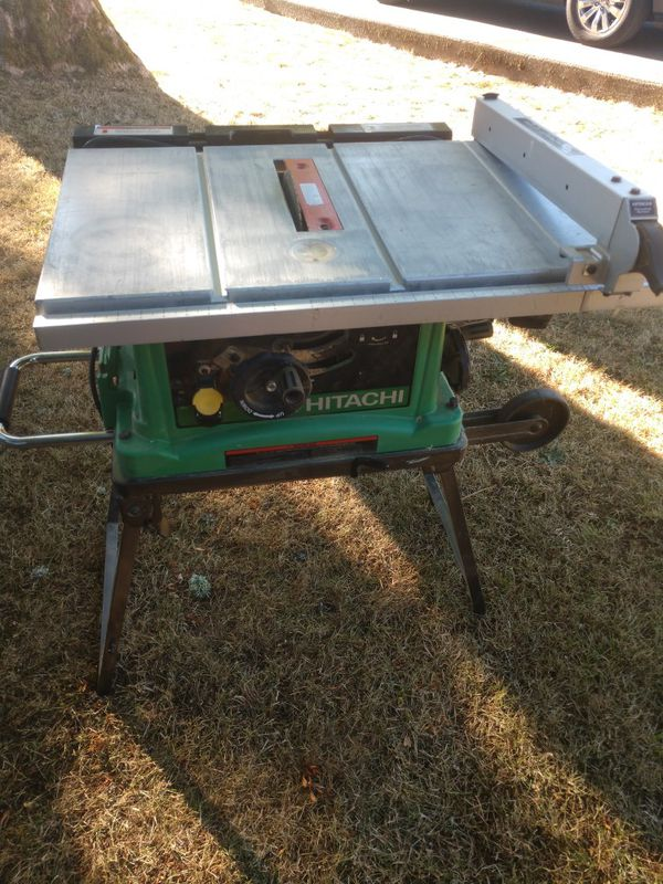 Hitachi C10fr Table Saw For Sale In Tacoma Wa Offerup
