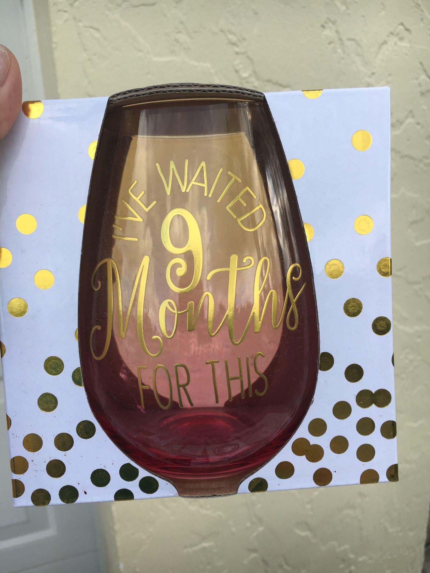 Wine glass oversized