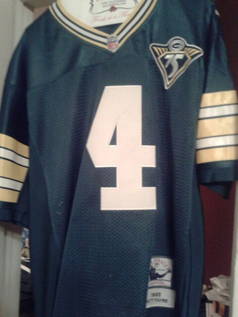 the best attitude 2158f 0f940 Brett Favre Green Bay Packers 75th Anniversary Jersey for Sale in Chino, CA  - OfferUp