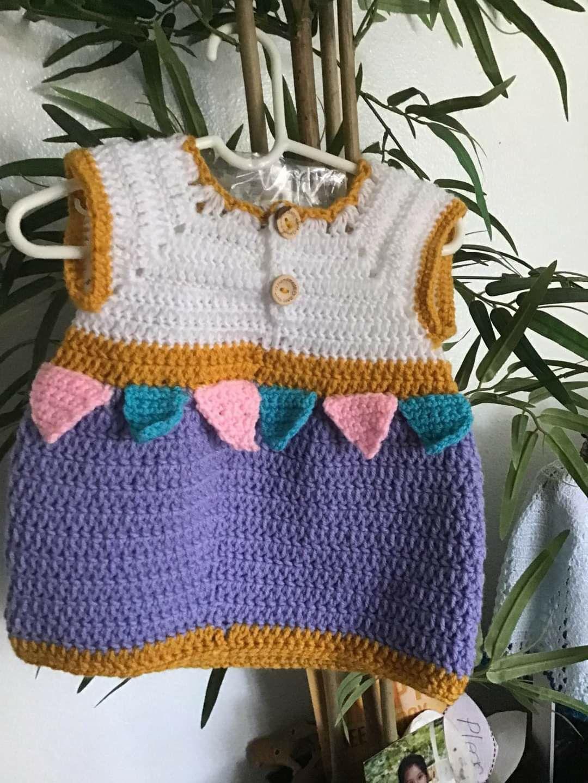 Crochet para. Bebe de 0a3 meses