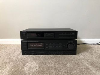 Kenwood Home Stereo Vintage System - Amplifier and Tuner Receiver Thumbnail