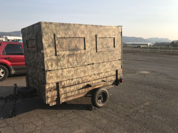 Atv Dirt Bike Trailer And Hunting Blind For Sale In