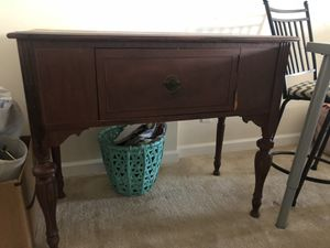 Solid Wood Vintage Woodward and Lothrop Buffet Chest for Sale in Silver Spring, MD