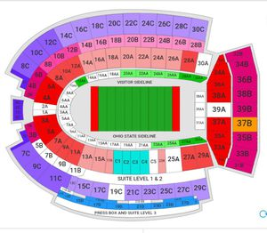 OSU Vs Michigan game ticket (price negotiable) for Sale in Columbus, OH