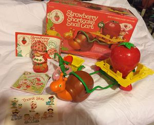 Vintage Strawberry Shortcake Items for Sale in Centreville, VA
