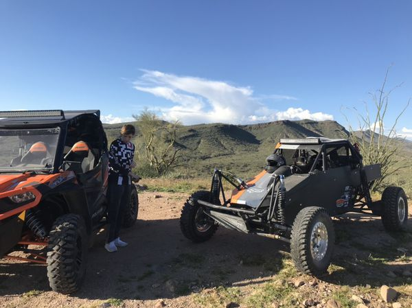 Single seat off road buggy pre runner sand rail for Sale in