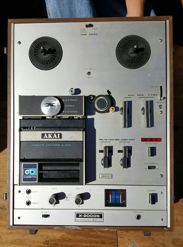 AKAI X-2000S Reel to Reel for Sale in Archdale, NC - OfferUp