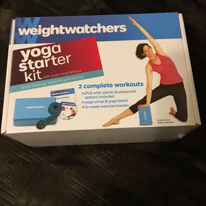 Weightwatchers yoga starter kit NEW for Sale in Cary, NC